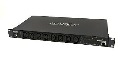 ATEN Eco PDU PE68108G 8 Outlet 10 Amp Metered Switched Power Distribution Unit  • 135£