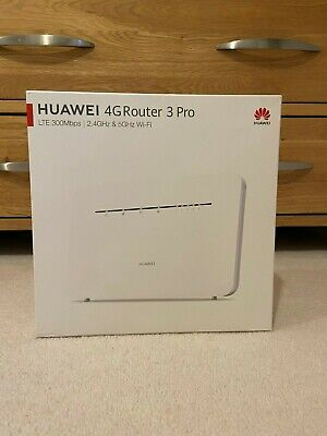 Huawei B535-232 4GRouter 3 Pro - LTE 300Mbps - 2.4GHz & 5GHz Wi-Fi • 100£