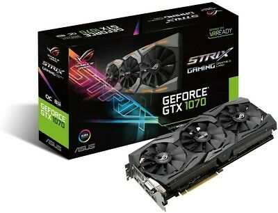 Asus GTX 1070 8GB Graphic Card 8pin Power  • 280£