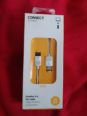 Belkin Firewire 9-6 Pin Cable 2M Bilingual (FOR Apogee Duet) • 30£