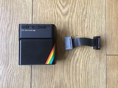 Sinclair ZX Spectrum Microdrive With Connector Lead - Stunning Condition • 69.99£