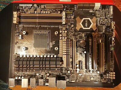 Asus Sabertooth 990fx R2.0 AM3+ Motherboard - Used - Working • 49£