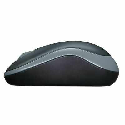 Logitech M185 Grey Wireless Optical Mouse Compact For PC Laptop MAC Linux NEW • 6.99£