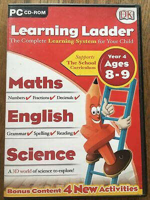 DK Learning Ladder Year 4 Ages 8-9 • 1.10£