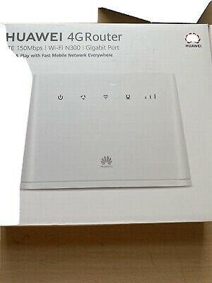 Huawei Router B311-221 CAT 4 4G/ LTE 150 Mbps Mobile Wi-Fi Router • 64£