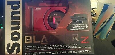 Creative Sound Blaster Z 5.1 Gaming Sound Card (70SB150000001) Never Opened • 12.50£