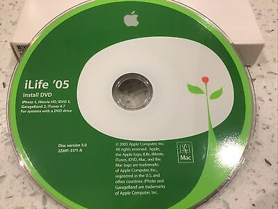 Apple ILife '05 Install Software Disc CD • 0.99£