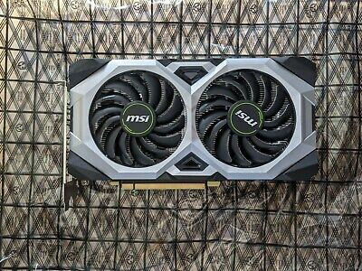 Nvidia Geforce RTX 2060 MSI Ventus OC 6GB Graphics Card - NEXT DAY POSTAGE • 499.99£