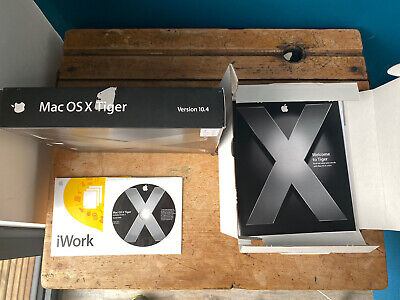 Rare Apple Mac Tiger OSX 10.4 Operating System Install DVD 2005 Includes Xcode 2 • 15.40£