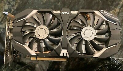 MSI GTX 1060 6gb GDDR5 Graphics Card (GPU) - Great Condition • 91£