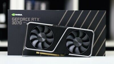 NVIDIA GeForce RTX 3070 Founders Edition - Brand New Sealed W/ Receipt  • 835£