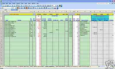 Hair/beauty Salon Bookkeeping & VAT System - 2020 Year End Version • 14.99£