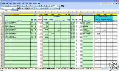 Newsagent/convenience Store VAT& Bookkeeping Spreadsheet - 2020 Year End Version • 14.99£
