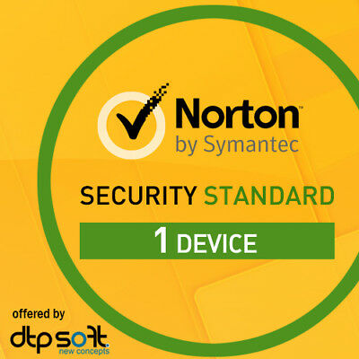 Norton Internet Security Standard 2020 1 Device PC 1 Year PC 2020 UK • 10.99£