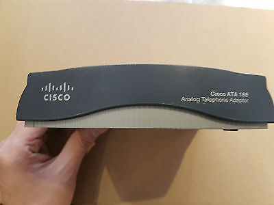 Cisco ATA186 VOIP Telephone Adaptor - No PSU • 15£