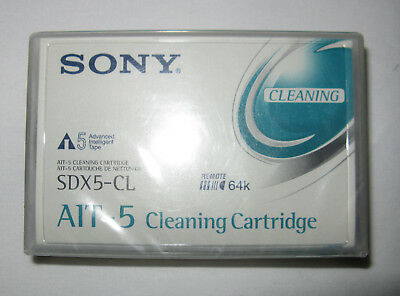 Sony SDX5-CL AIT Cleaning Tape - New (cracked Case) • 49.99£
