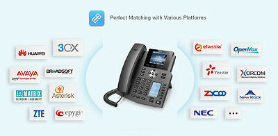 Fanvil X4G Gigabyte IP Phone Perfect For 3CX And Kenttec • 66.52£