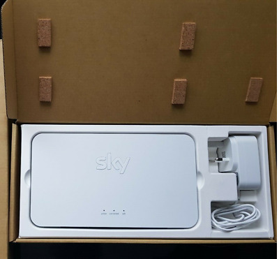BRAND NEW Sky Q WiFi Booster Helps To Increase Wifi Signal Around Your Home  • 84.99£