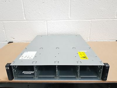 HP P2000 G3 MSA 12x 3.5'' LFF Modular Smart Array Chassis AP838A (2x PSU) • 336£