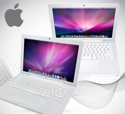 Apple MacBook 13  Core 2 Duo  2.0GHz 2GB 160GB HDD MB404 2008 A1181 • 129£