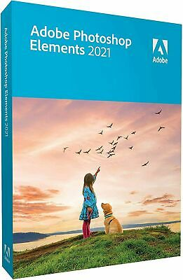 Adobe Photoshop Elements 2021 Mac/Win 2 Computers Sealed Retail Box  • 92.95£