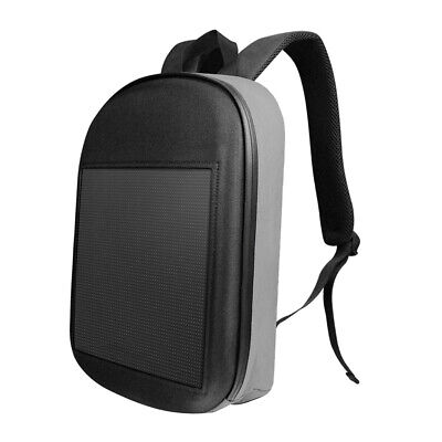 Professional Slim Laptop Backpack W/LED Dynamic Screen For Advertising Etc#4 • 52.79£