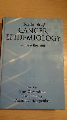 Textbook Of Cancer Epidemiology -Ex Library Book, Very Good • 32.78£