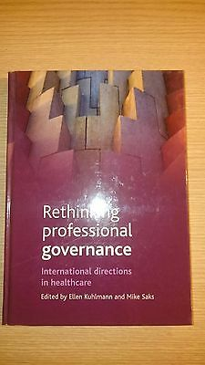 Rethinking Professional Governance: International D - Ex Library Book, Very Good • 42.78£