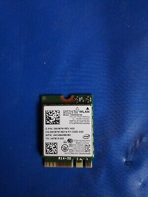 Genuine Dell Intel Dual Band Wireless-n 7260 Wifi Card Mx87m 0mx87m • 19.99£