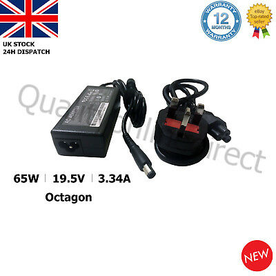 FOR DELL PA21 Inspiron 1545 Laptop Charger Adapter 19.5V 3.34A Octagon DA65NS4-0 • 10.27£