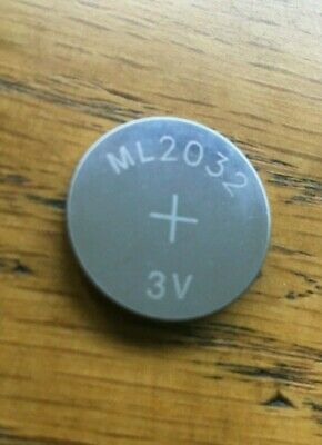 NEW ML2032 ML 2032 Rechargeable CR2032 CR 3V Coin Button Cell Battery Batteries • 5.99£