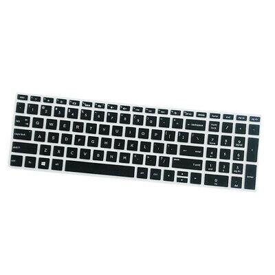 Waterproof Silicone Keyboard Cover Protector Protective For HP 15.6  Black Color • 2.02£
