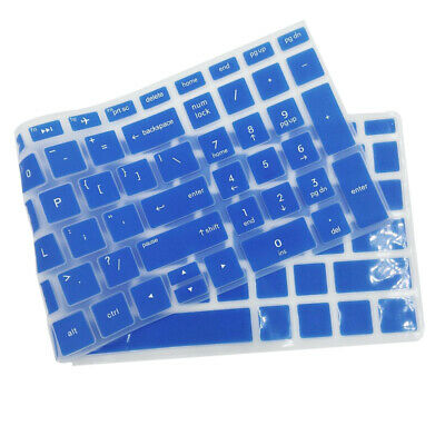 Waterproof Silicone Keyboard Cover Protector Protective For HP 15.6  Blue Color • 2.07£
