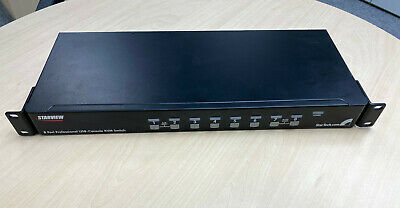 StarTech 8-Port StarView USB-Console KVM Switch • 80£