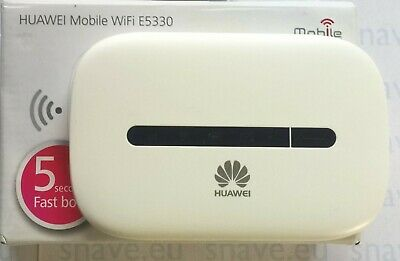 Original Huawei E5330 3G MB Wi-Fi Router Mi-Fi For EE (or Virtual) Networks • 15£