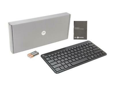 MOTOROLA Wireless Bluetooth Keyboard Small & Portable For Android Devices, Black • 19.95£