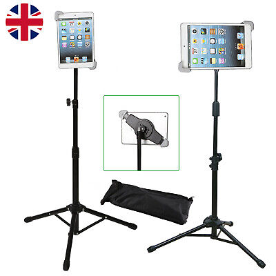 Professional Adjustable 360 Tripod + Stand Holder &For Smart Ipad 1 2 3 4 Air UK • 13.69£