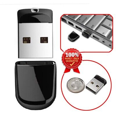 4gb 8gb 16gb 32gb Mini USB 2.0 Memory Stick Flash Thumb Pen Drive PC/Mac Etc • 4.99£