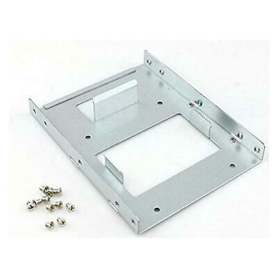 SSD To HDD Hard Drive Adapter - 2.5-inch To 3.5-inch Metal Mounting Bracket • 4.73£