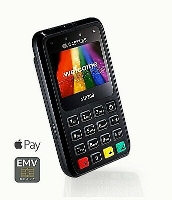 ✰ CASTLES Card Reader MP200L ✰ Cheaper Than SumUp ✰ Brand New ✰ ✰ UK BASED✰  • 9.99£