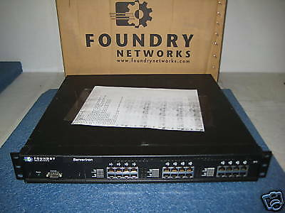 FBSLB24 Foundry 24 Port ServerIron Load Balancer Dual AC Power • 404.48£