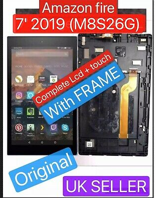 Original Amazon Kindle Fire 7 2019 Lcd Complete Screen Display M8S26G ALEXA • 29.99£