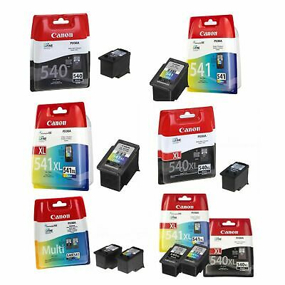 Genuine Canon PG-540 XL & CL-541 XL Ink Cartridges For Pixma MG2150 MG3150 Lot • 24.75£