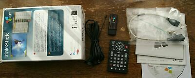 PCTV Systems DVB-T2 292e TripleStick HD TV Tuner - PC Freeview HD TV - Complete • 45£