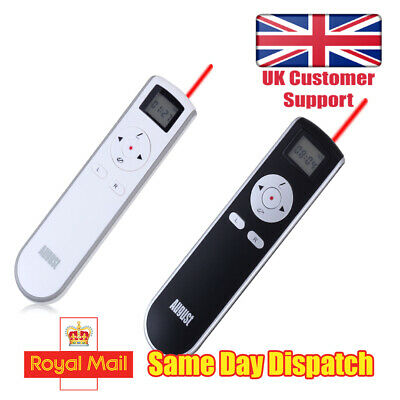 Wireless Presenter With Laser Pointer - Perfect For Office, Classroom HomeSchool • 13.95£