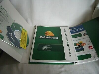 Quickbooks US Pro Edition 2006 For Windows 2000/XP – Ref 2143 • 15£