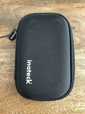 "Inateck Shockproof Carrying Case With Zipper For 2.5"" Hard Disk Drives HHD/SSD • 0.99£"