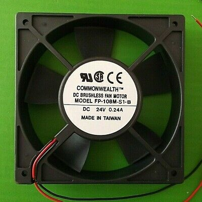 Fan 24 Vdc Cooling 120mm Fans 120 X120x 25.4mm Ball FP108M/DC24VS1B X 1pc • 2.99£