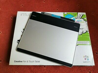 Wacom Intuos Creative Pen & Touch Small CTH-480S-N USB Graphic Tablet With Pen • 33£