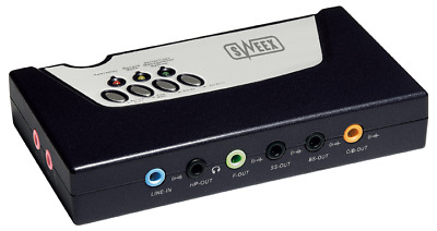 Sweex External Sound Card 5.1 With Digital In/Out USB 2.0 • 0.99£